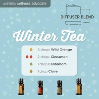 Winter Tea diffuser Recipe