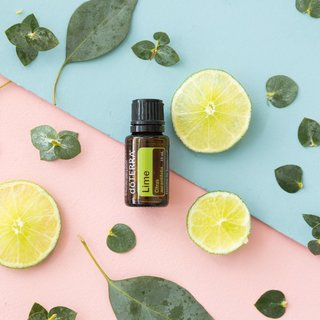 Lime Essential Oils in your drink