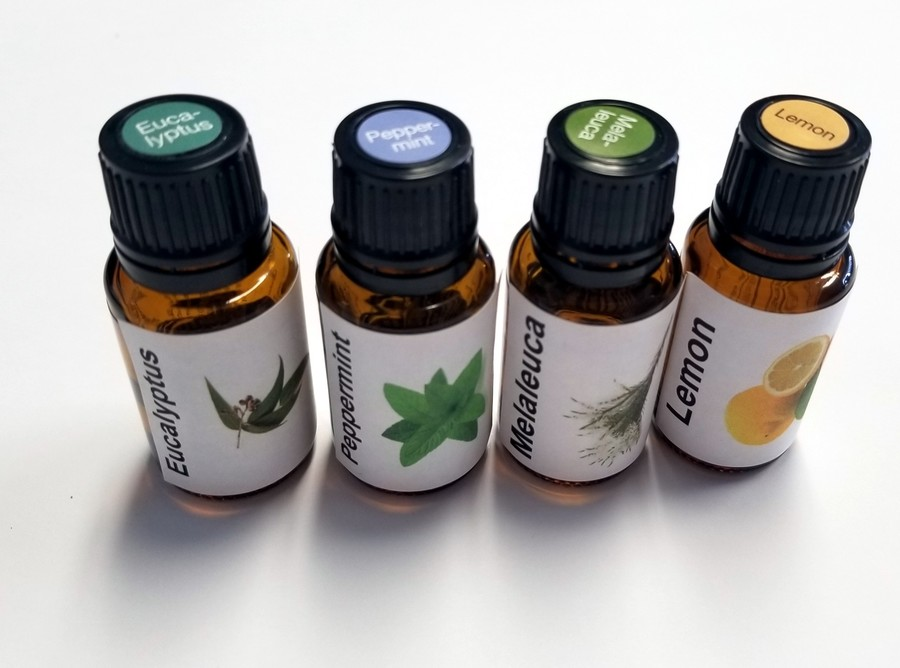 Eucalyptus, Peppermint, Melaleuca and Lemon work well to open airways and help breathing easier.