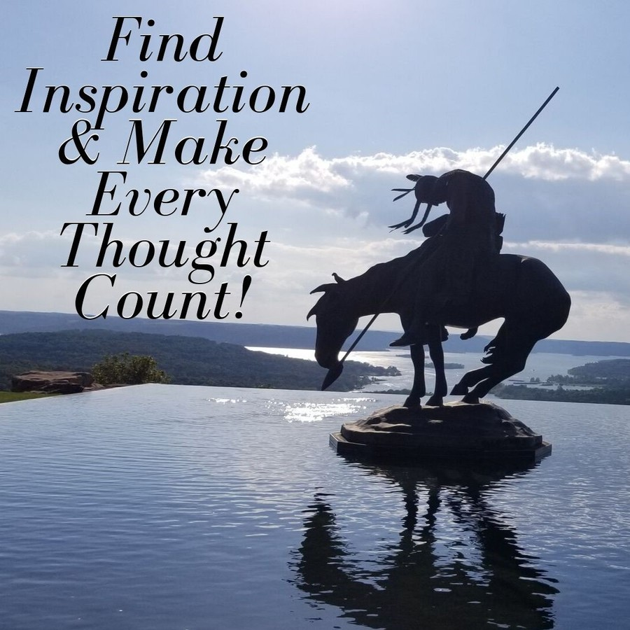 Find Inspiration & Make Every Thought Count Feel stuck in a rut? Doing these things can help you get out and reach your potential!