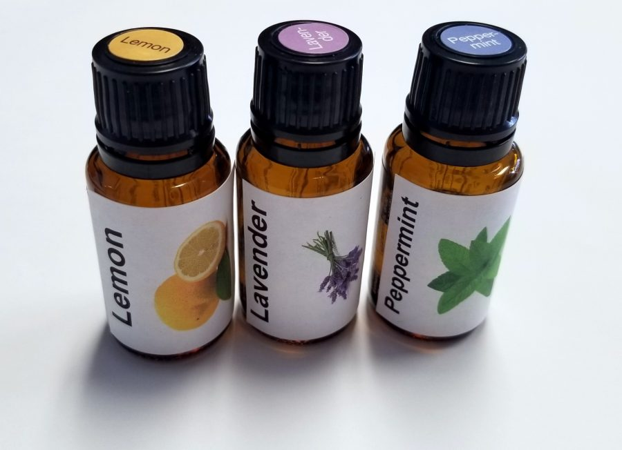 Lemon, Lavender & Peppermint work  in a synergistic way an a natural antihistamine.