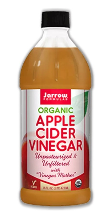 Organic Unfiltered Apple Cider Vinegar Bottle