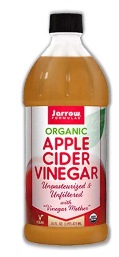Organic Unfiltered Apple Cider Vinegar Bottle