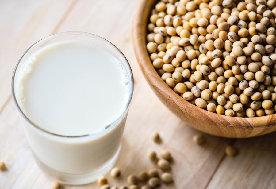 Soy interferes with the hormones in the body
