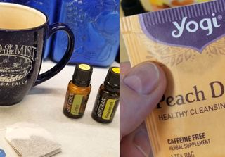 Adding Essential Oils to your tea