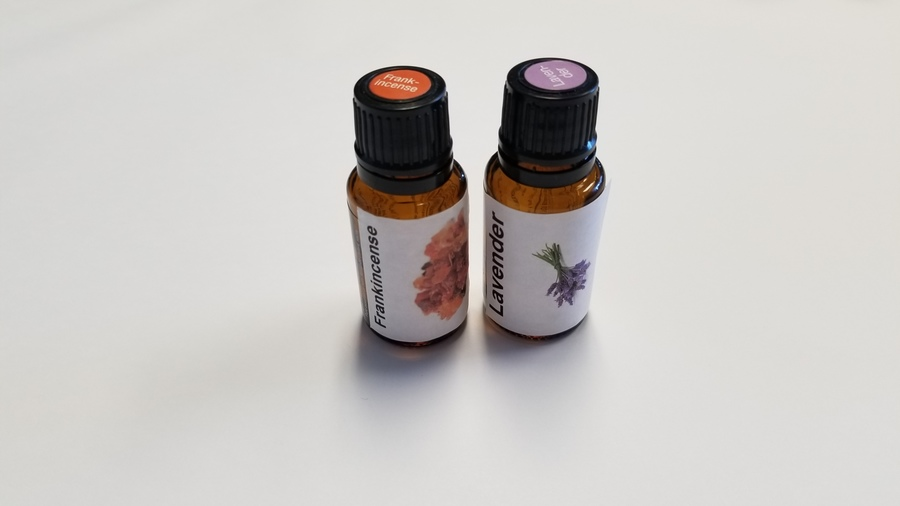 Frankincense & Lavender work well to help with Tension.